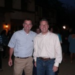 Mayor Rusty Bailey and Asst City Manager Al Zelinka