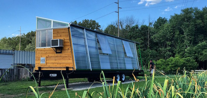 'Insurgent Architecture' Students Build Mobile Greenhouse to Overcome Urban Farming Challenges