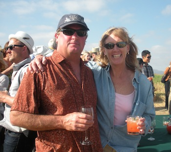David and Tina Barnes are co-founders of Crows Pass Farm in Temecula. (photo courtesy Tina Barnes/Crows Pass Farm)