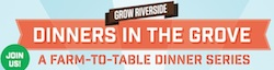 dinners in the grove upcoming events