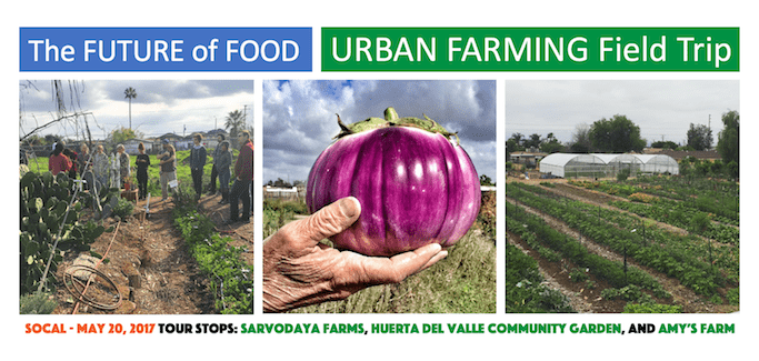 'Future of Food' Urban Farming Field Trip to Explore Urban Ag Endeavors in Inland SoCal