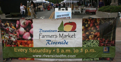 Riverside Downtown Farmers Market in Riverside