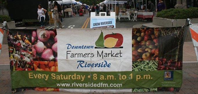 Riverside Downtown Farmers Market in Riverside